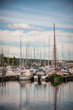 Port Oslo Obrazy Royalty Free