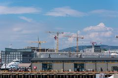 Port of Oslo, Norway royalty free stock photography