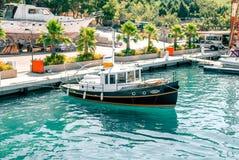 Port på den Aegean kusten, Turkiet Arkivfoto