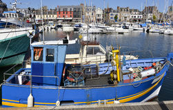 Port of Paimpol in France Stock Images