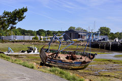 Port of Paimpol in France Royalty Free Stock Photos
