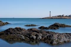 Port paisible de la Nouvelle Angleterre images libres de droits