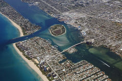 Port of Palm Beach Royalty Free Stock Photo