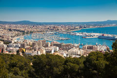 The port of Palma de Mallorca Royalty Free Stock Images