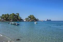Port of Parga, Greece - Ionian Sea - Preveza, Epirus Stock Images