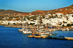 Port of Paros Royalty Free Stock Photo