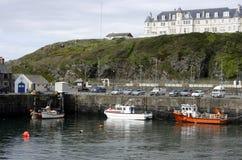 Port Patrick Harbour, Galloway, Scotland Stock Photo