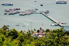Port of pattaya Royalty Free Stock Images