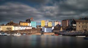 Port Pembrokeshire de Tenby Photographie stock