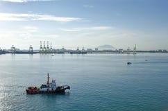 Port of Penang Royalty Free Stock Photo