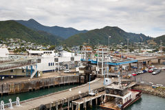 Port of Picton - New Zealand Royalty Free Stock Images