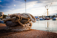 Port. Picture of a small port Stock Photo