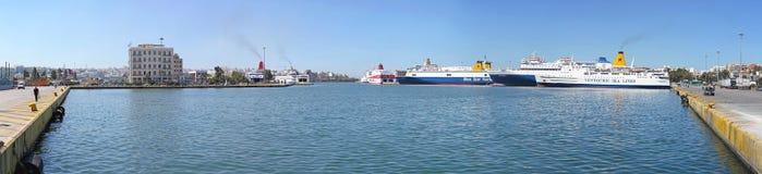 Port Piraeus Obraz Stock