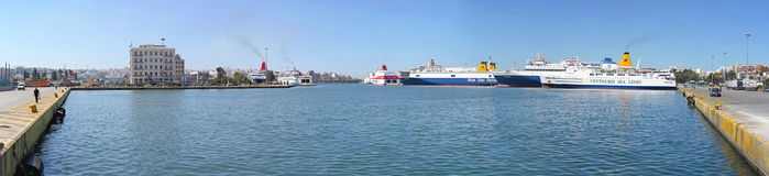 Port of Piraeus Stock Image