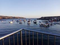 Port Playa San Juan stock image