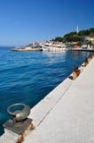 Port of Podgora in Croatia Royalty Free Stock Photo