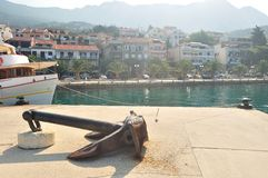 Port of Podgora Royalty Free Stock Images