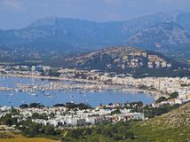 Port of Pollenca on Majorca Stock Photo