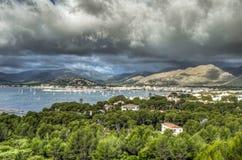 Port of Pollensa - Palma de Mallorca - Spain Stock Image