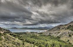 Port of Pollensa - Palma de Mallorca - Spain Stock Photography