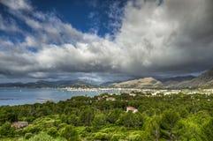 Port of Pollensa - Palma de Mallorca - Spain Stock Photos