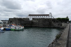 Port, Ponta Delgada, Portugal photo libre de droits
