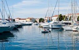 Port in Porec, Croatia Royalty Free Stock Photos