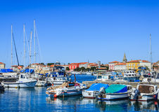 Port of Porec, Croatia. Royalty Free Stock Images