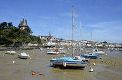 Port of Pornic in France Royalty Free Stock Photos