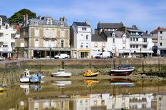 Port of Pornic in France Royalty Free Stock Photography