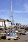Port of Pornic in France Stock Photography
