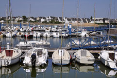 Port of Port Louis in Brittany in France Stock Image