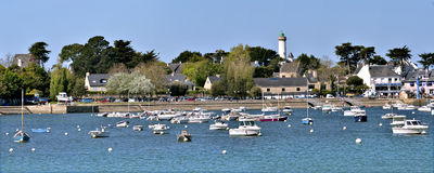 Port of Port-Navalo in France Stock Image