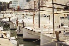 Port of Porto Cristo. Majorca, Spain Stock Photos