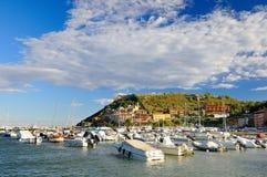 Port in Porto Ercole Royalty Free Stock Photo