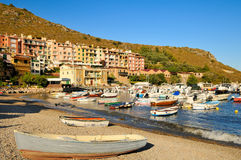 Port in Porto Ercole Stock Image