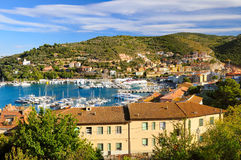 Port in Porto Santo Stefano Stock Image