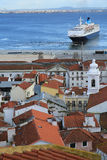 Port Portugal de Lisbonne Images stock