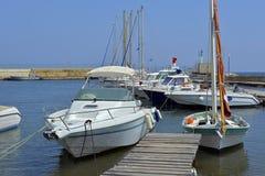 Port Pothuau à Hyères in France Stock Images