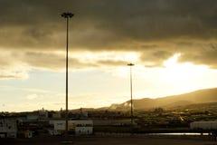 Port of Praia da Vitória Stock Photography