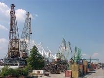 port przeładunku Obrazy Royalty Free