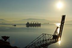 port przemysłowe Obraz Stock