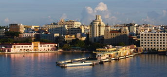 Port of Puerto Rico. Caribbean island Beautiful city San Juan Puerto Rico Stock Photos
