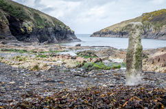 Port Quin in Cornwall England uk Stock Image
