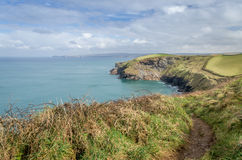 Port Quin in Cornwall England uk Stock Photography
