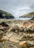 Port Quin in Cornwall England uk Stock Images