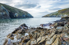 Port Quin in Cornwall England uk Stock Photos
