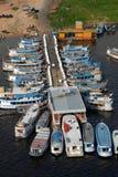 Port régional de métier de Manaus Photo stock
