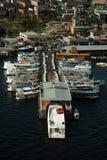 Port régional de métier de Manaus Images libres de droits