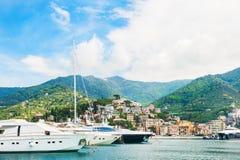 Port of Rapallo, Italy Royalty Free Stock Image